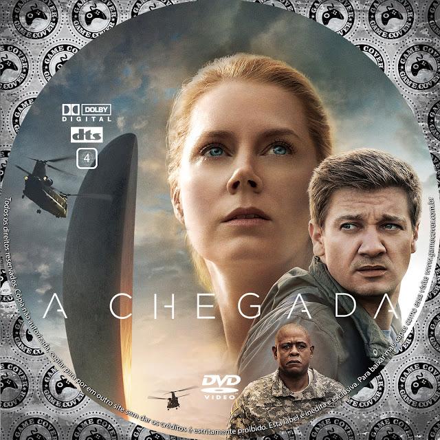 Label DVD A Chegada [Exclusiva]
