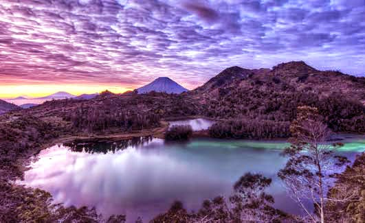 Dataran Tinggi Dieng di Wonosobo Jawa Tengah