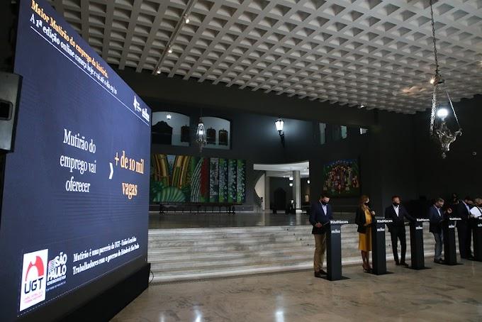 Governo de SP realiza mutirão virtual de emprego com mais de 10 mil vagas