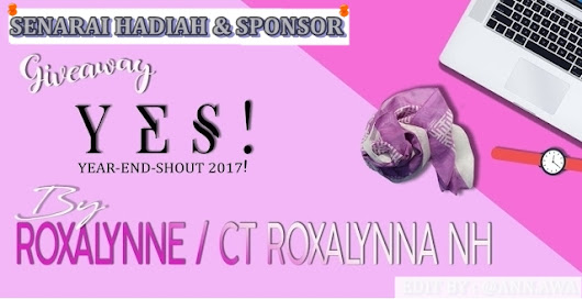 Jom Kenal HNorisa Boutique | #2 Sponsor GiveAway YES 2017 by Roxalynne