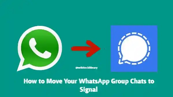 How to Move WhatsApp Group Chats to Signal Private Messenger