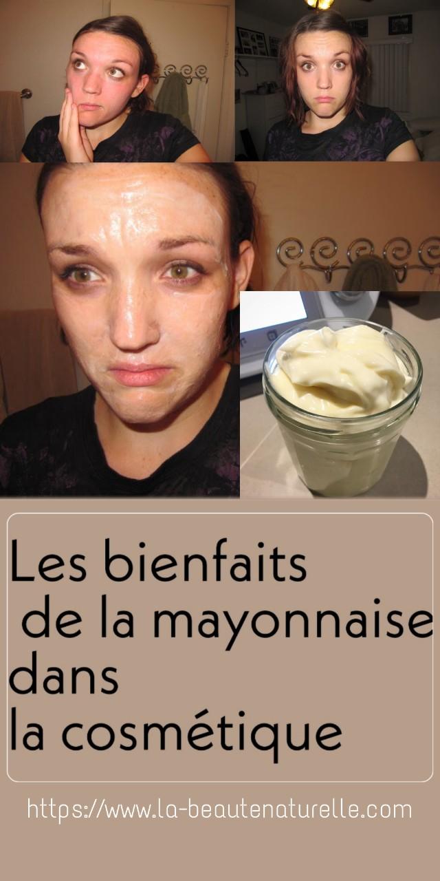 Les bienfaits de la mayonnaise dans la cosmétique