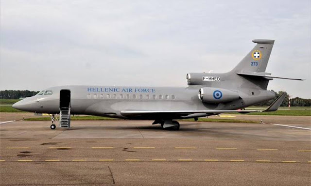 France provides Greece with Dassault Falcon 7X aircraft free of charge
