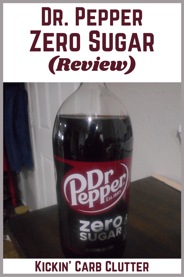 Here's my experience with Dr. Pepper Zero Sugar.