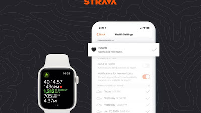 O Strava finalmente sincroniza com o Apple Health no Apple Watch