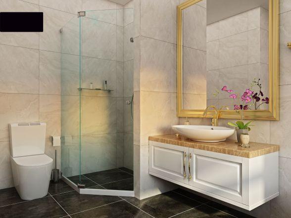 Thiết kế phòng tắm chung cư Samsora Hà Đông