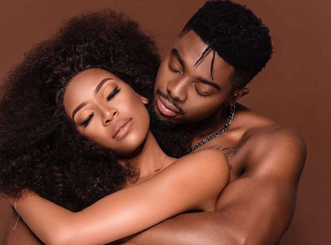 Simz Ngema's Bae, Model Tino Chinyani, Shares 'TMI' Of What Went Down In The DMs
