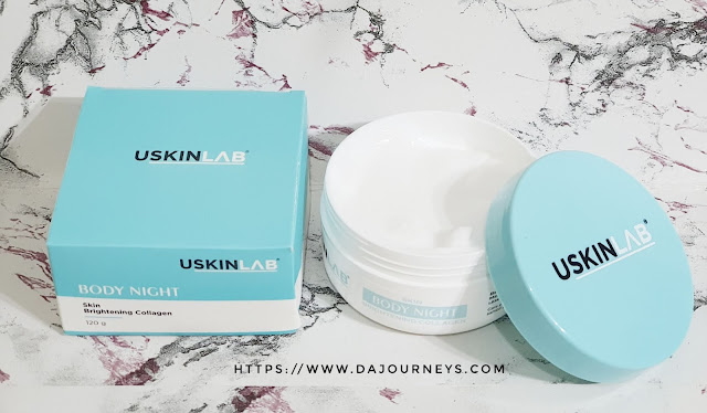 Review USKINLAB Body Night Brightening Collagen