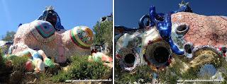 jardim dos taros imperatriz - Jardim do Tarô de Niki de Saint-Phalle