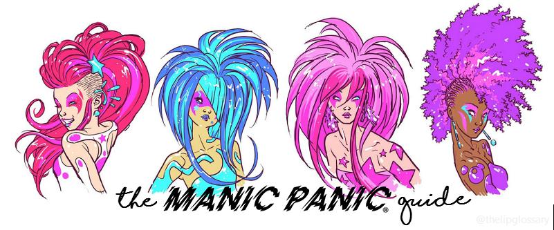 ec1618271b Capelli viola, blu, rosa, verdi, grigio, fuxia: MANIC PANIC, la ...