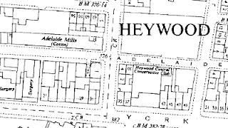 Adelaide Mills, OS map, 1957.