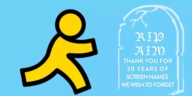 RIP, AOL Instant Messenger