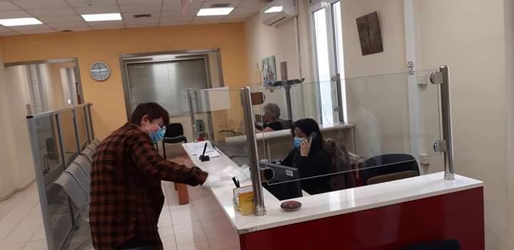 Το ΣΥΕΤΕ νομού Λάρισας ενημερώνει τους τραπεζοϋπαλλήλους της Εθνικής Τράπεζας για την προστασία της υγείας τους
