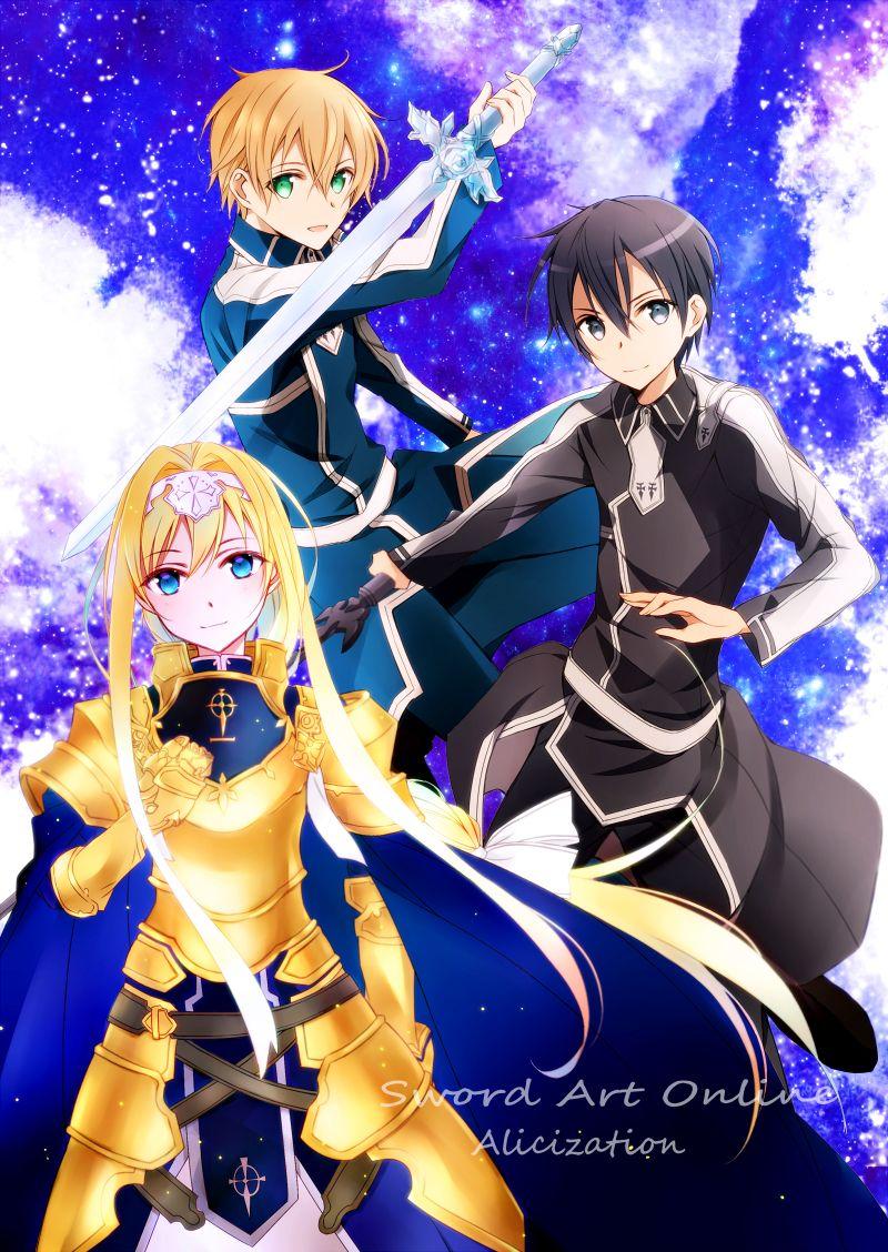 Xem Anime Đao kiến thần vực phần 6 -Sword Art Online SS6 - sword art online alicization war of underworld ss2 VietSub