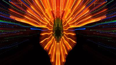 Large exposure, HD wallpaper, light, blur, glow
