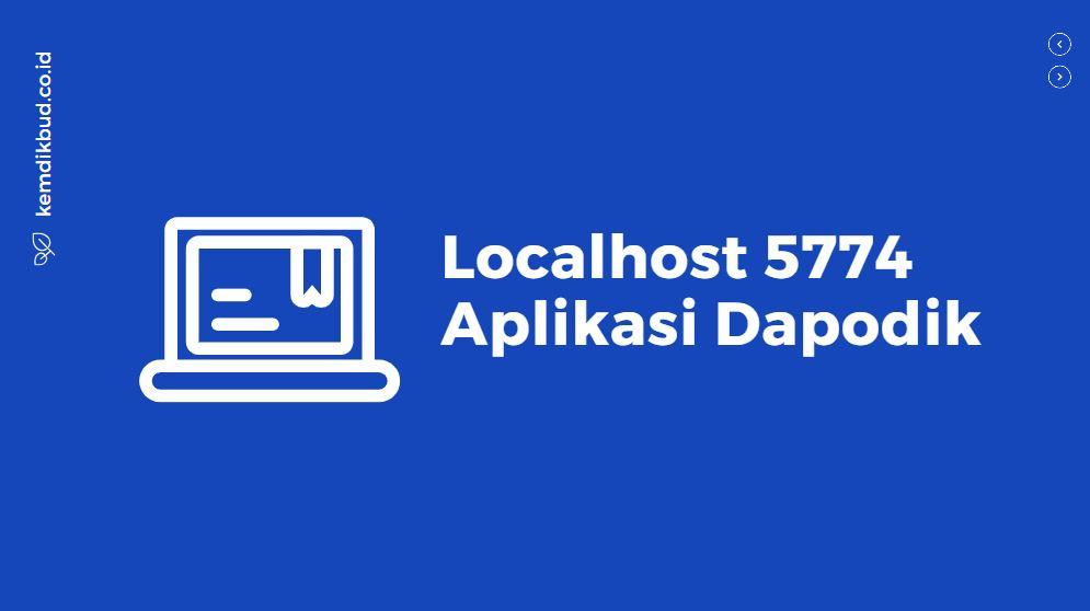 solusi localhost 5774 aplikasi dapodik
