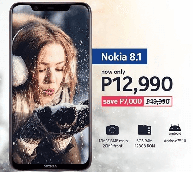 Nokia 8.1 with Snapdragon 710 and 6GB RAM is now priced at PHP12,990