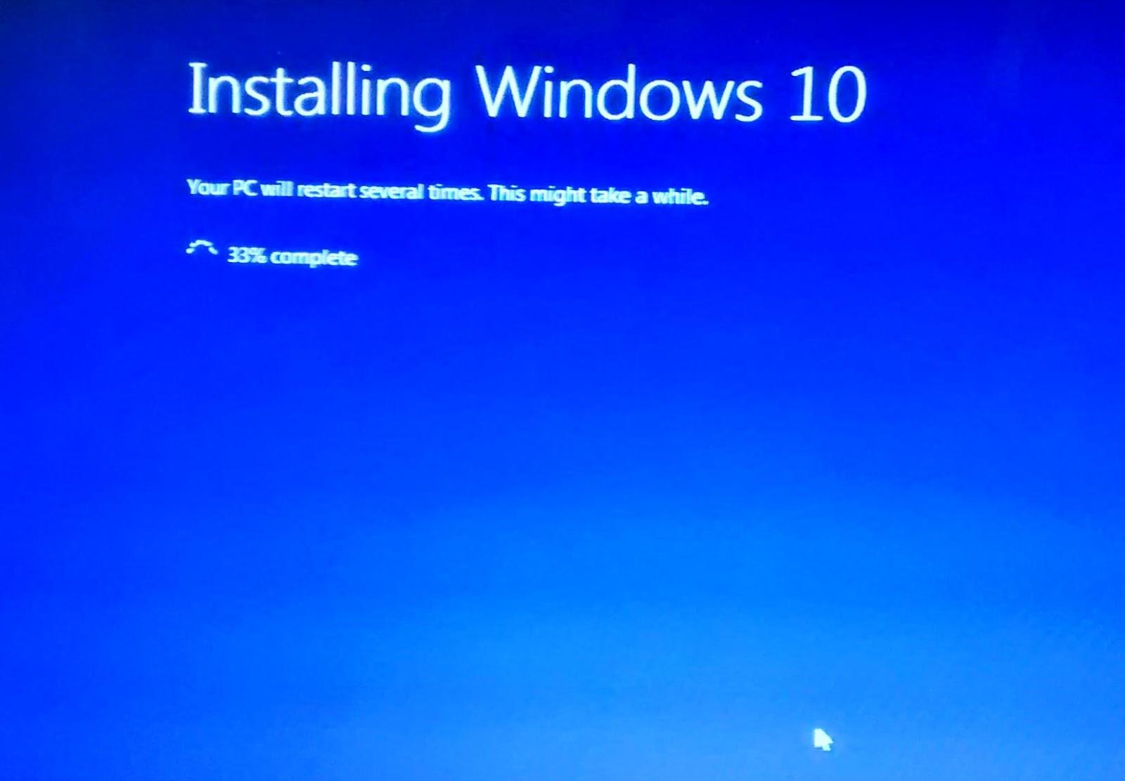 Update Windows 10 Reservieren