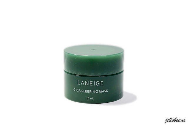 Laneige Cica Sleeping Mask | Review