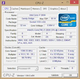 Cara Melihat Spesifikasi Komputer Dengan Lengkap