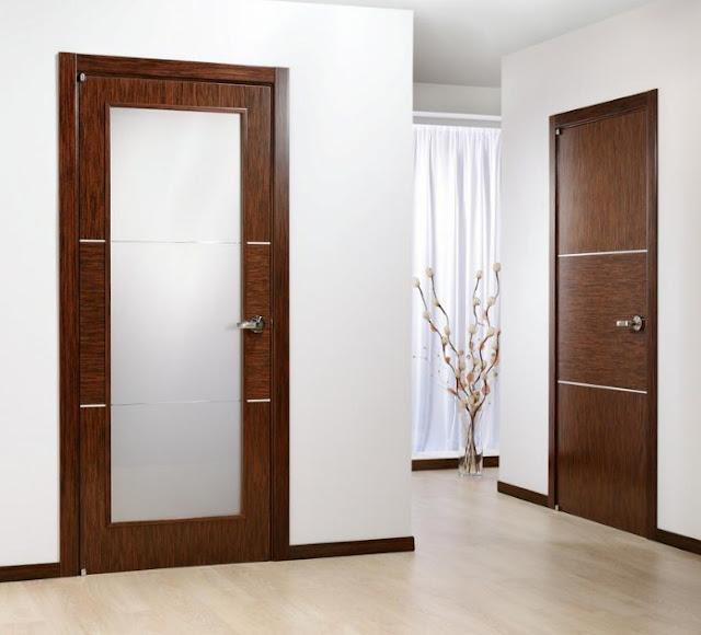 desain pintu kamar minimalis