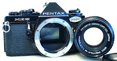 Pentax ME Super (Black) Body #506, SMC Pentax-M 50mm F1.7 #310