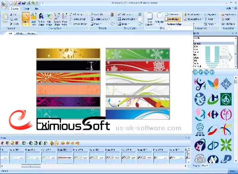 EximiousSoft Banner Maker Free Gif Animator,  Banner Ads Design Software