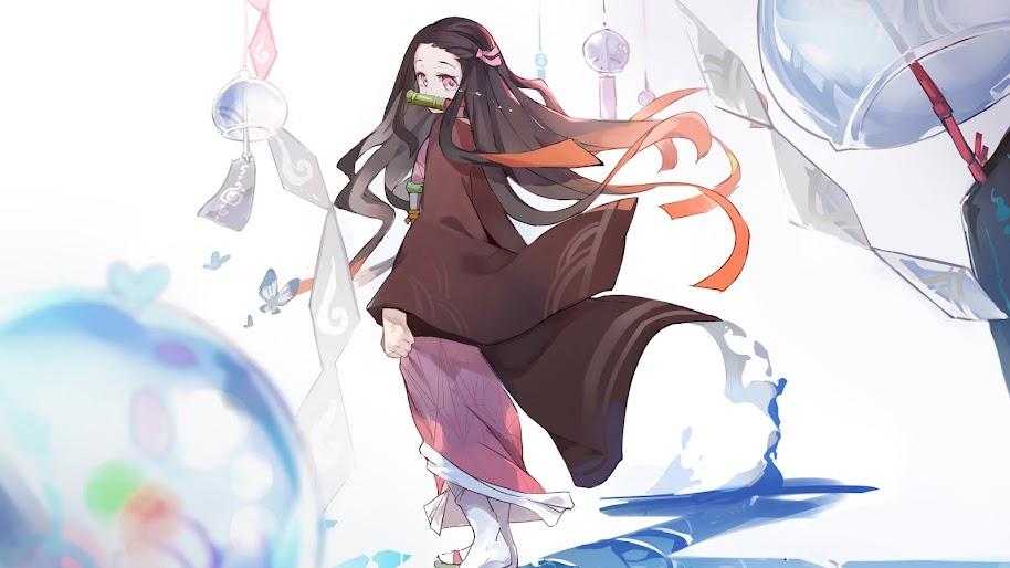 Nezuko Kamado Kimetsu No Yaiba 4k Wallpaper 85