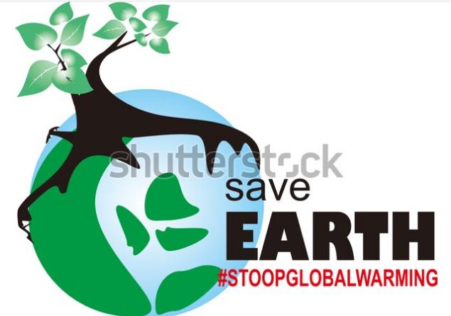 illustration stock earth green