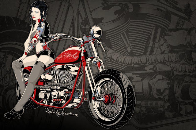 Illustration by Rockabilly Artworks