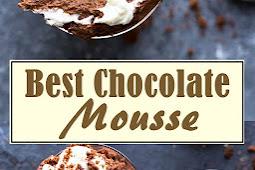 Best Chocolate Mousse Recipe