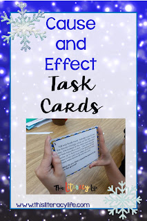 Cause and effect can be tricky for so many of our students. The book White Snow, Bright Snow is the perfect companion to help you teach cause and effect.