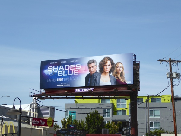 Shades of Blue 2016 Emmy FYC billboard