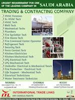 Training & Contracting Company Vacancies Saudi Arabia