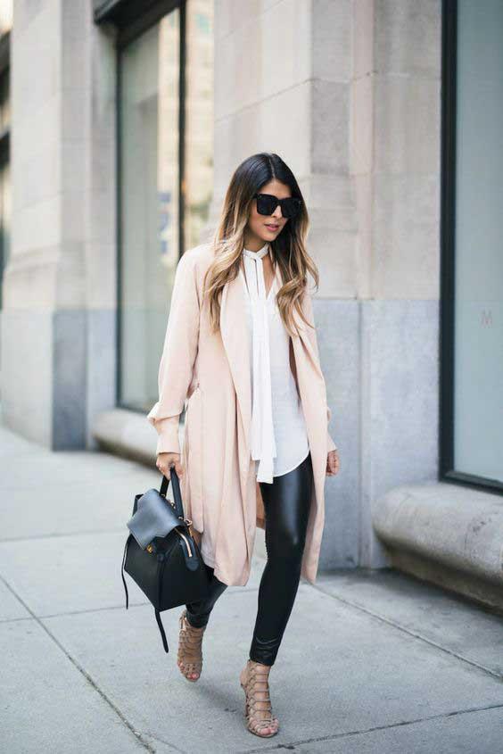 Como usar legging de modo elegante