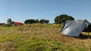 Baderneiros do movimento Sem-teto invadem terreno público e Guarda Municipal de Campo Grande (MS) negocia desocupação