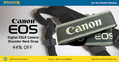 Canon EOS Digital DSLR Camera Shoulder Neck Strap