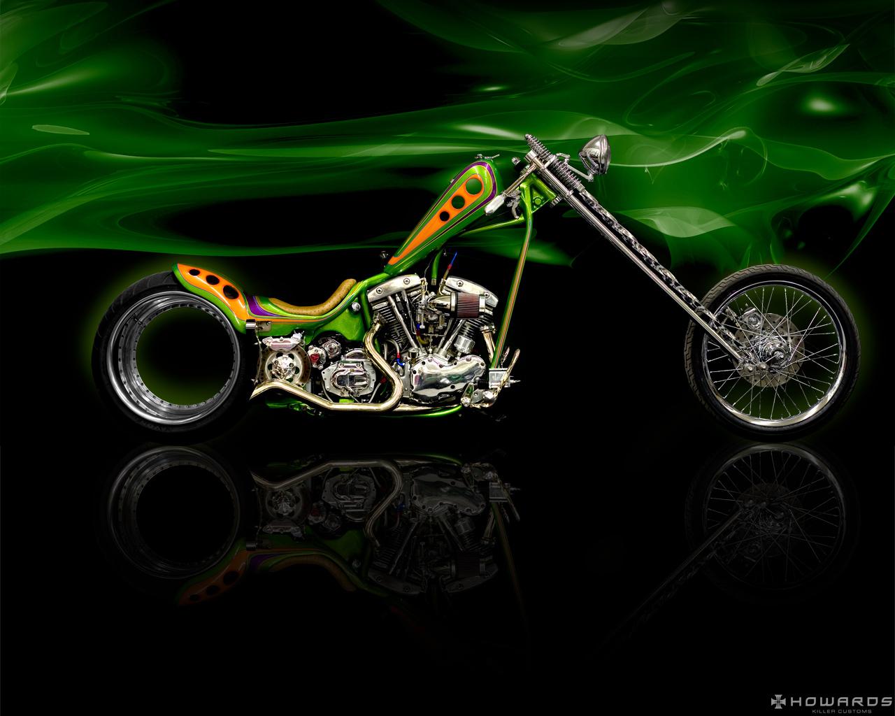Harley Davidson Chopper Bike