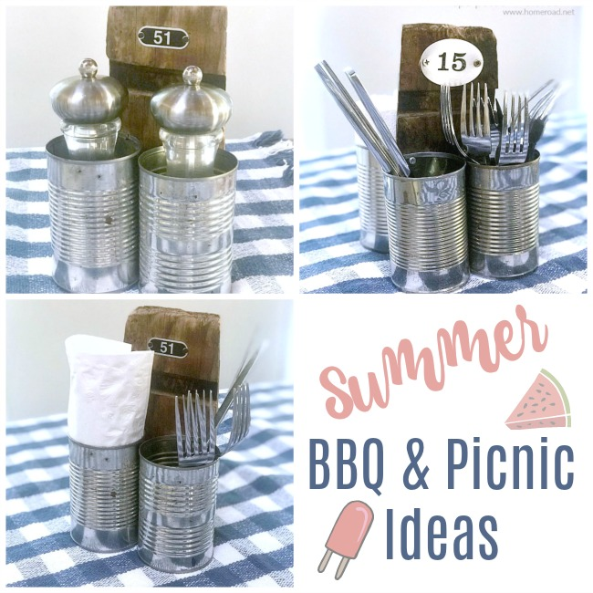 DIY Summer Picnic Caddiy
