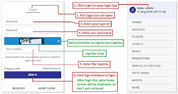 IRCTC Login For Train Ticket Booking Online | My IRCTCIRCTC Login Next Gen - Resolve Account Login Problem! Tutorial 2020