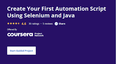 best Coursera course to learn Selenium and Java