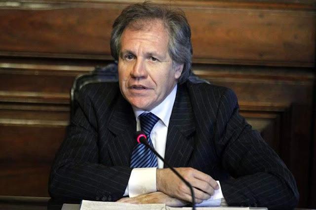 Almagro pide convoca al Consejo Permamente de la OEA por el golpe de estado en Venezuela