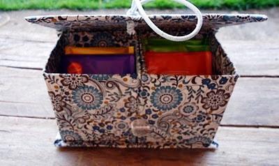 ideia artesanato reciclar reciclagem reciclando diy caixa leite caixinha sustentabilidade porta joias lembrancinha