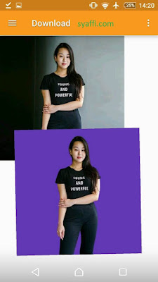 Ubah Warna Background Foto Online