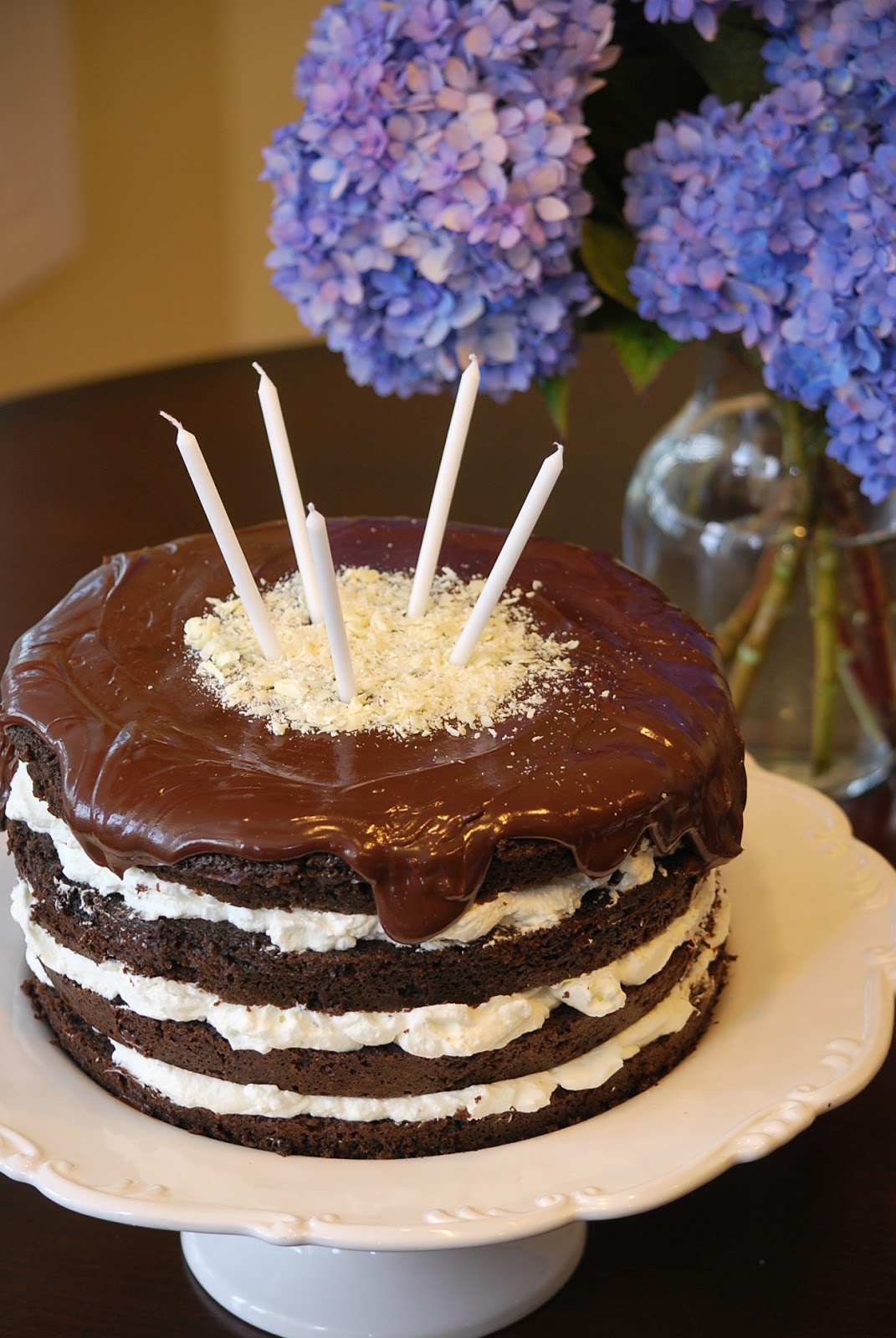 My Story In Recipes Dark Chocolate Birthday Cake