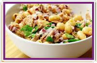 Fazolový salát s tuňákem - Recepty a vaření