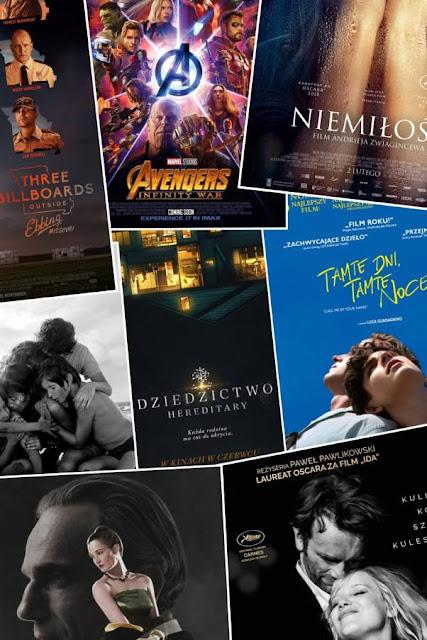 Ulubione filmy, seriale ipłyty 2018roku