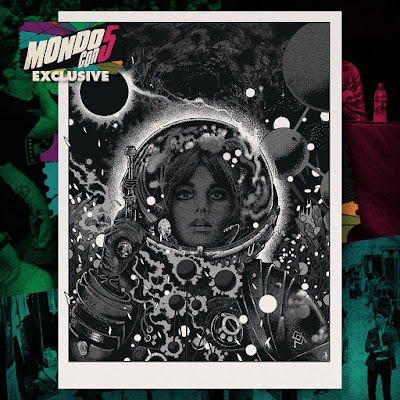 "MondoCon 2019 Exclusive ""The Explorer"" Silver Metallic Art Print by Richey Beckett"