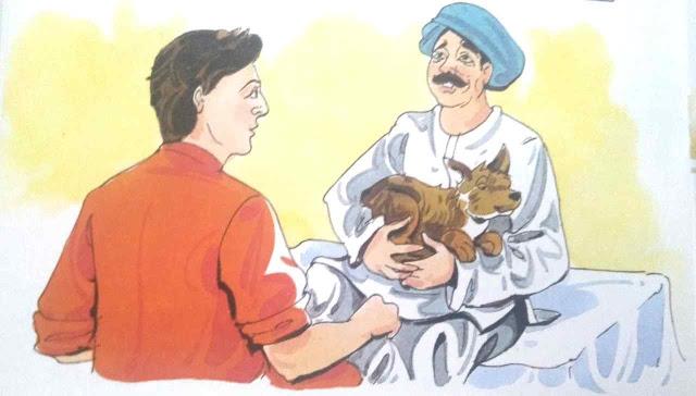 अंधे व्यक्ति की सूझ-बूझ Short moral story in hindi for class 1