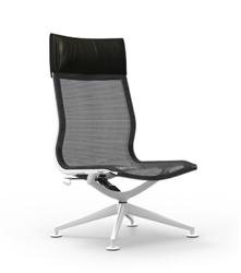 Modern Mesh Back Lounge Chair